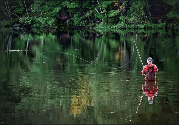 Photograph - Fisherman by Rick Mosher