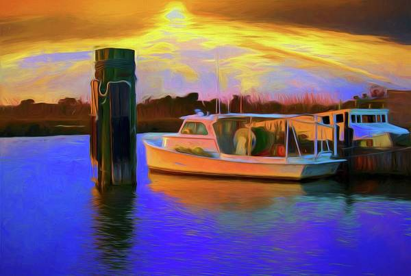 Photograph - Fisherman Sunset by Alice Gipson