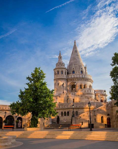 Buda Photograph - Fisherman's Bastion - Buda - Hungary by Bridget Calip
