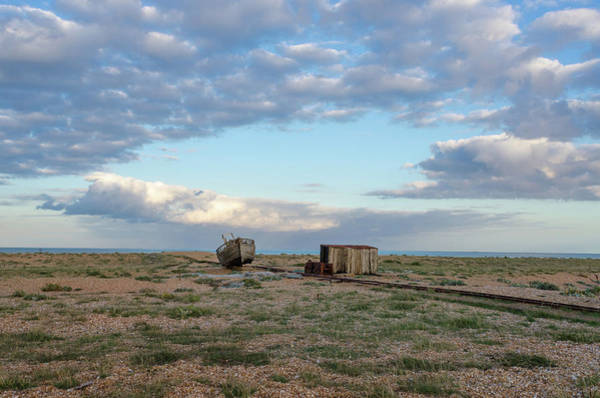 Photograph - Fishermans Landscape, Dungeness Beach by Perry Rodriguez