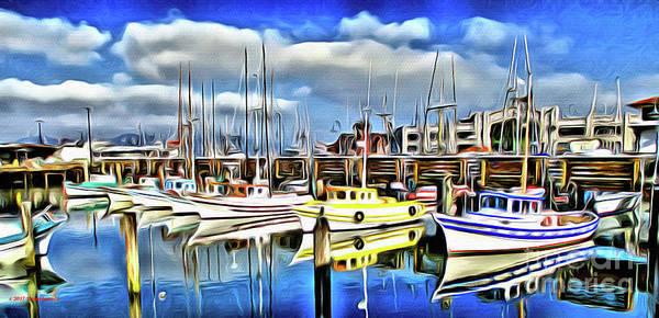 Wall Art - Photograph - Fisherman's Wharf San Francisco by Jerome Stumphauzer