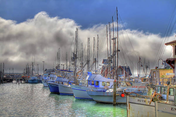 San Francisco Harbor Photograph - Fisherman's Wharf by Donna Kennedy