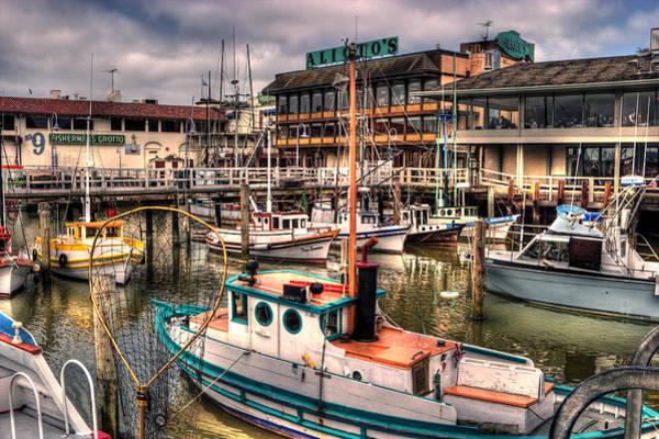 Photograph - Fisherman's Wharf by Lee Santa