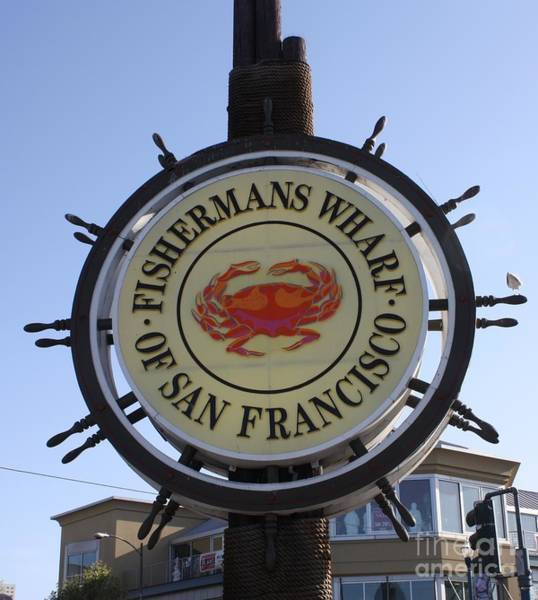 Wall Art - Photograph - Fishermans Wharf Of San Francisco by John Telfer