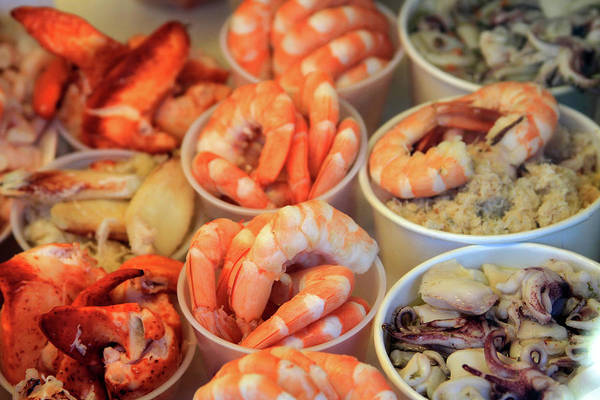 Photograph - Fishermans Wharf Seafood Delights by Bonnie Follett