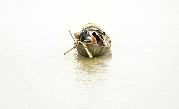 Photograph - Fishermen On The Lower Ganges by Chris Cousins