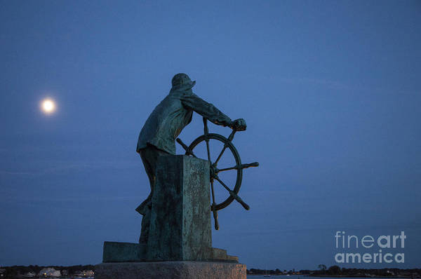 Wall Art - Photograph - Fishermen's Memorial by Timothy Johnson