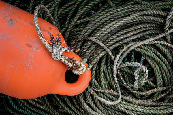 Photograph - Fishermens Tools by Glenn DiPaola