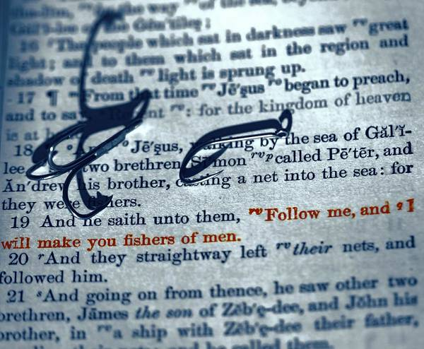 Bible Quotes Photograph - Fishers Of Men by Dan Sproul