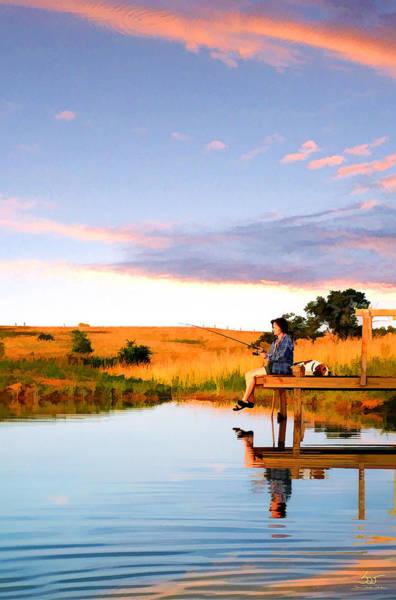 Photograph - Fisherwoman by Sam Davis Johnson