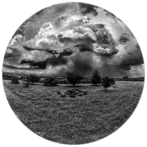 Photograph - Fisheye Storm by Chris Cousins