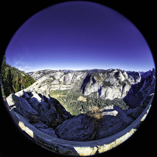 Photograph - Fisheye View Of Yosemite by Chris Cousins