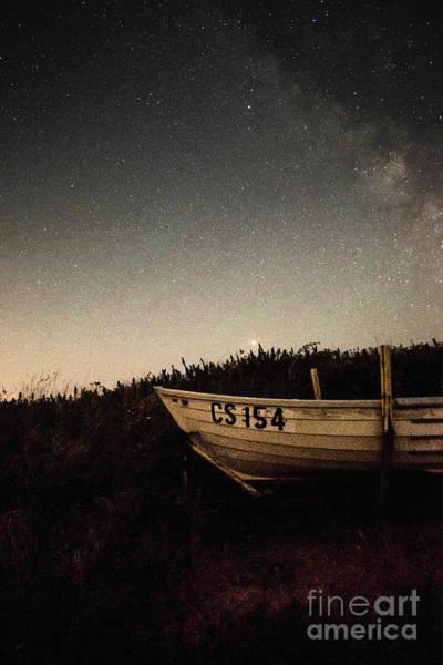 Photograph - Fishing Boat And Stars by Clayton Bastiani