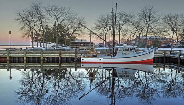 Fishing Boat At Newburyport Art Print
