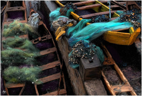 Photograph - Fishing Boat Colors by Wayne King