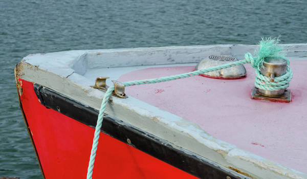 Photograph - Fishing Boat Detail by Rob Huntley