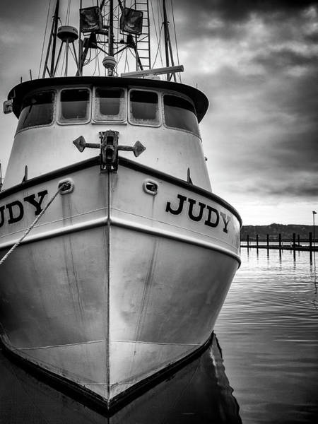 Newport Wall Art - Photograph - Fishing Boat Judy by Carol Leigh