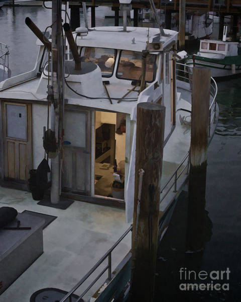 Photograph - Fishing Boat San Francisco by David Gordon