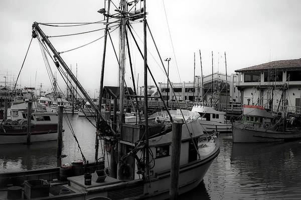Photograph - Fishing Boat Sf by Lee Santa
