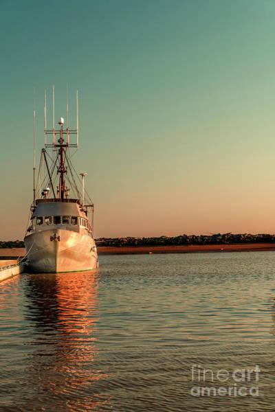 Wall Art - Photograph - Fishing Boat At Sunset by Viktor Birkus