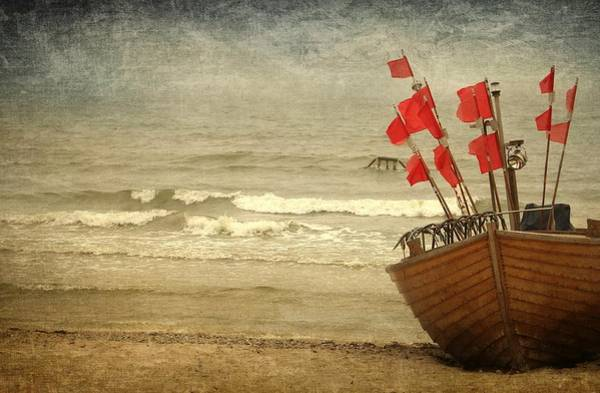 Wellness Mixed Media - Fishing Boat Still Life by Heike Hultsch