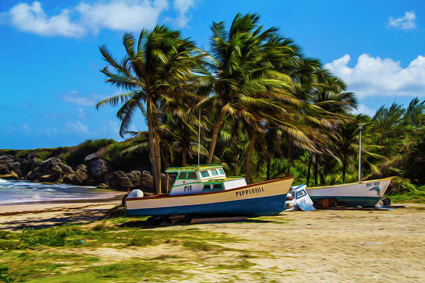 Photograph - Fishing Boat by Stuart Manning