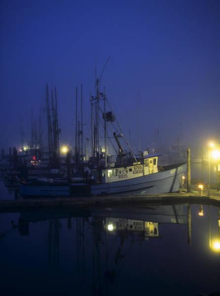Photograph - Fishing Boats At Dawn by Robert Potts