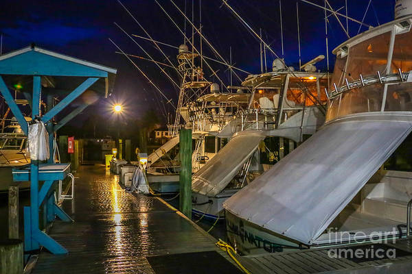 Photograph - Fishing Boats At Dock by Tom Claud
