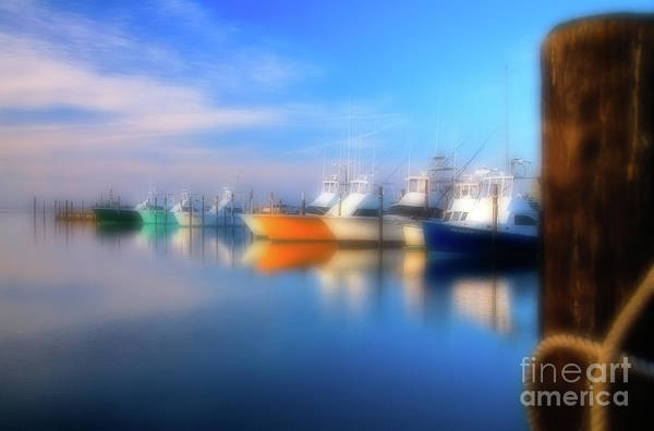 Wall Art - Photograph - Fishing Boats At Oregon Inlet Outer Banks by Dan Carmichael