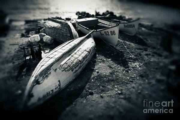 Photograph - Fishing Boats At The Old Port by Dimitar Hristov