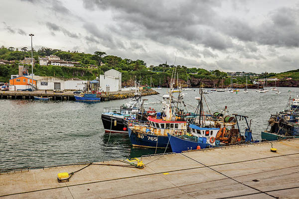 Dunmore East Photograph - Fishing Boats by Ed James