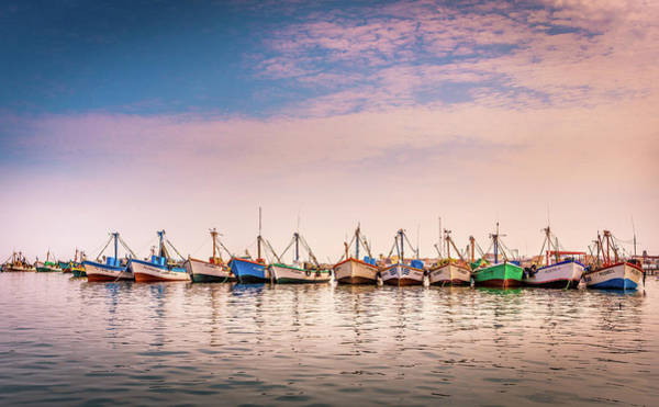 Photograph - Fishing Boats by Gary Gillette