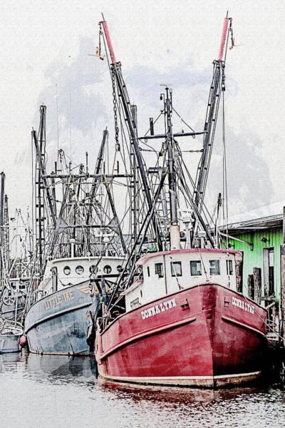 Wall Art - Photograph - Fishing Boats by Greg Waters