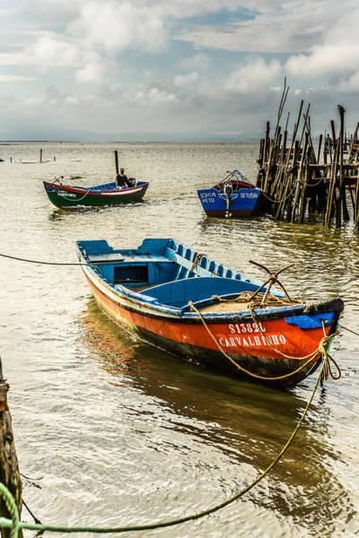 Wall Art - Photograph - Fishing Boats by Marco Oliveira