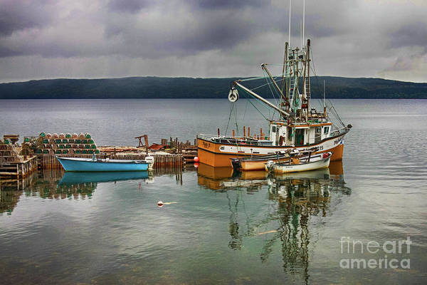 Photograph - Fishing Boats by Tatiana Travelways