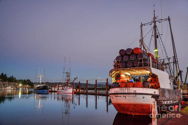 Photograph - Fishing Boats Waking Up For The Day by Paul Quinn