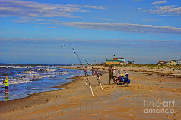Photograph - Fishing Buddies by Roberta Byram