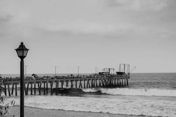 La Libertad Photograph - Fishing Dock And Market by Totto Ponce