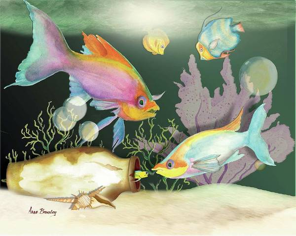 Painting - Fishing Expedition by Anne Beverley-Stamps