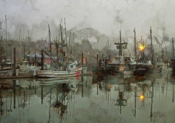 Photograph - Fishing Fleet Dock Five by Thom Zehrfeld