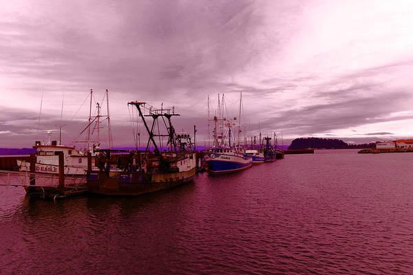 Swan Boats Photograph - Fishing Fleet by Jeff Swan