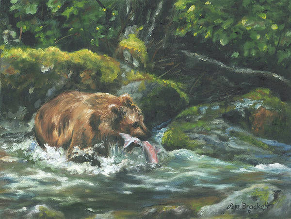 Painting - Fishing For Lunch by Lori Brackett