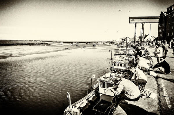 Photograph - Fishing For Crabs by Nick Bywater