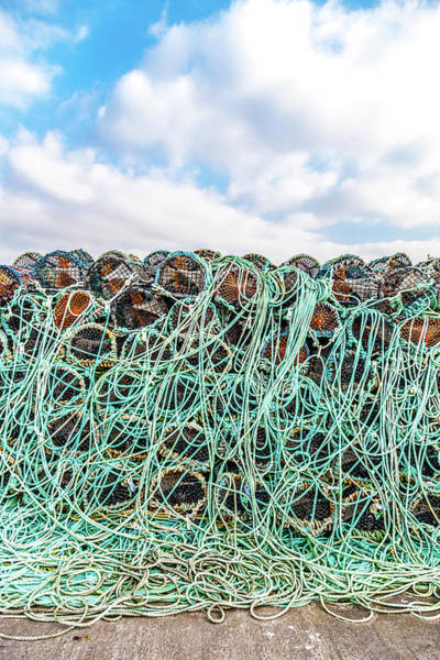Dingle Peninsula Photograph - Fishing Gear In Dingle by W Chris Fooshee