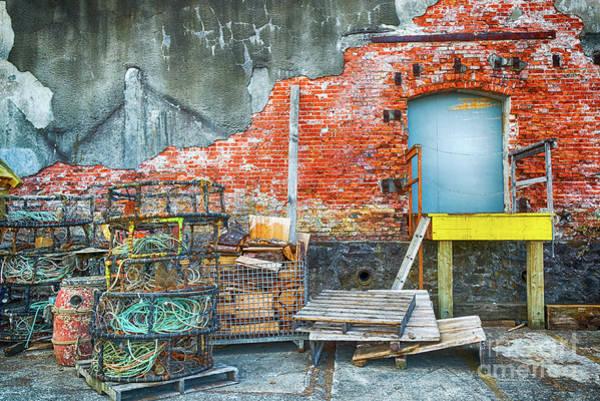 Astoria Photograph - Fishing Gear by Paul Quinn