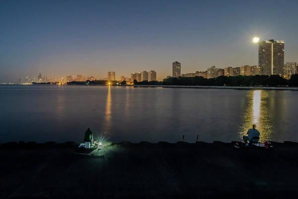 Wall Art - Photograph - Fishing In The Moonlight by Sven Brogren