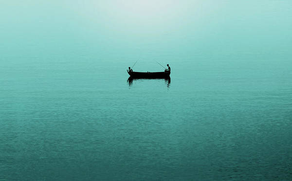 Wall Art - Photograph - Fishing In Turquoise Waters by Happy Home Artistry