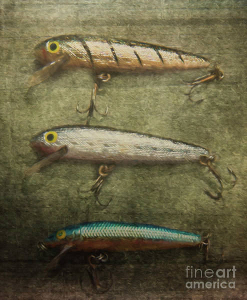 Photograph - Fishing Lures by Pam  Holdsworth