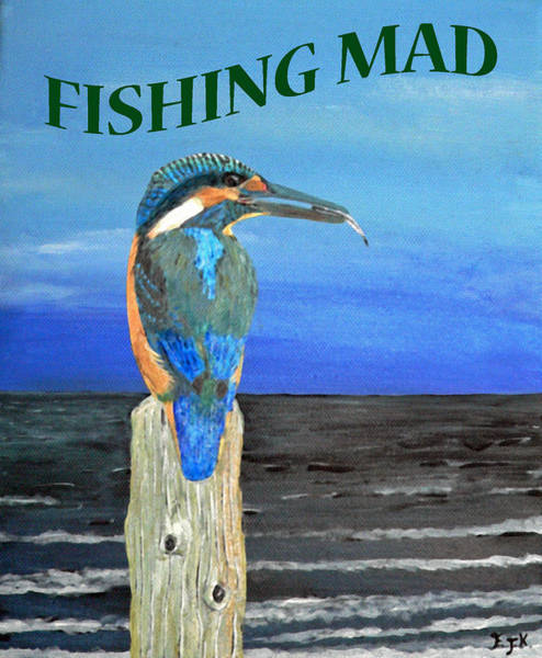 Painting - Fishing Mad by Eric Kempson