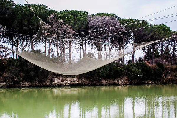 Photograph - Fishing Net by Ana Mireles